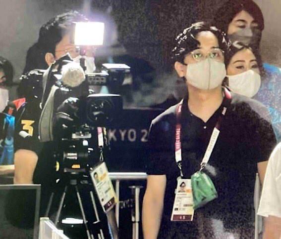 伊藤美誠選手への韓国テレビの妨害ライト