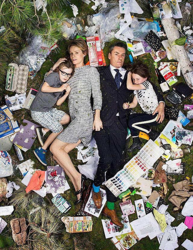 4人家族が1週間で出したゴミの量・内訳