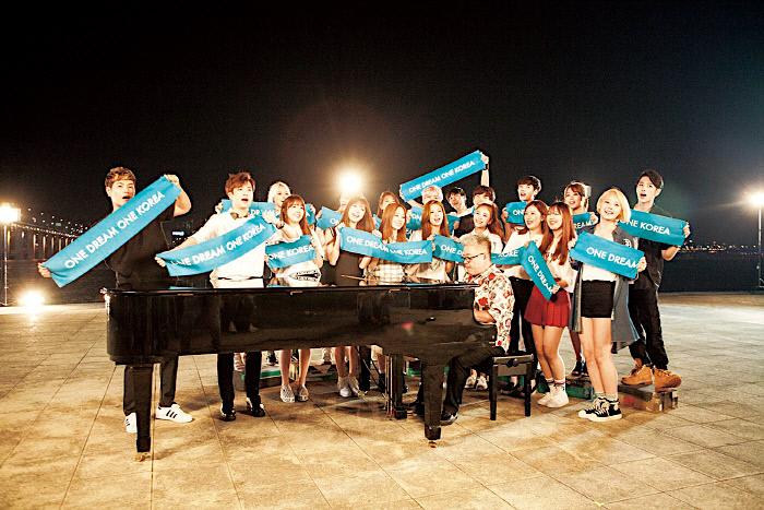 One Dream One Koreaに登場するK-popアイドル