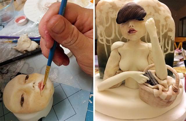 怪しげなセクシー魔女のケーキの作り方