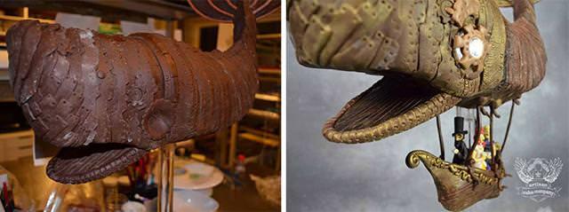 クジラ型の飛行艇に乗って世界を旅する貴族たちのケーキの作り方