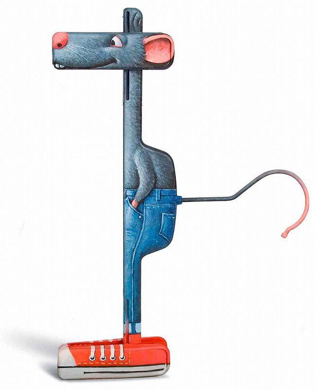 生活用品の面白いデザインのアイディア:ハンガー