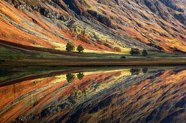 写真トリック:まるで油絵のようなスコットランドの風景