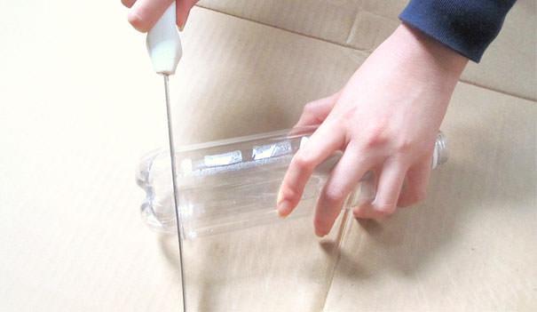 ペットボトル工作:ペットボトル製シャンデリアでゴージャスに!