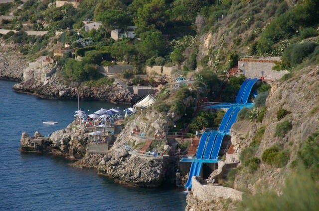 凄いウォータースライダー:Citta del Mare(イタリア-テッラジーニ)