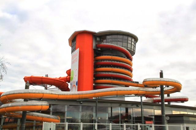 凄いウォータースライダー:Twister and Speedy(オーストリア-ルッツマンスブルグ)