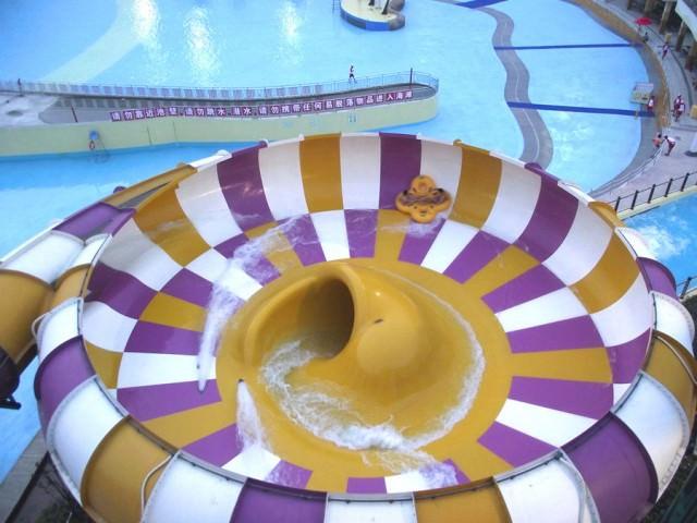 凄いウォータースライダー:Behemoth Bowl(中国-広東省 )