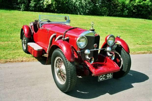クラシックカー:ベンツ38250(1929 Mercedes-Benz 38250 SSK)