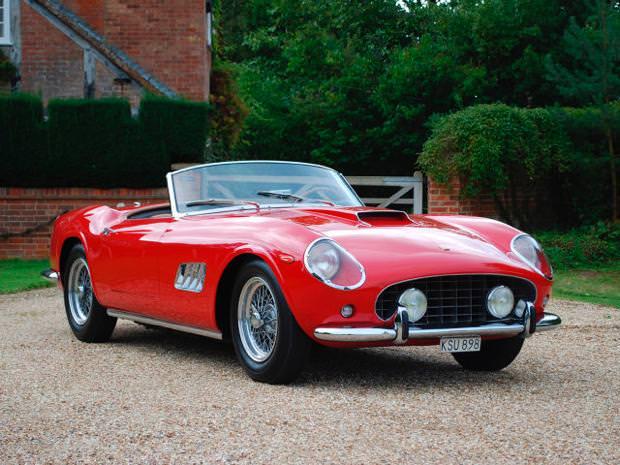 クラシックカー:フェラーリ(1960 Ferrari 250 GT SWB Berlinetta Competizione)