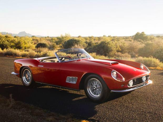 クラシックカー:フェラーリ(1955 Ferrari 410S)