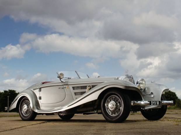 クラシックカー:ベンツ(1937 Mercedes-Benz 540 K Spezial Roadster)