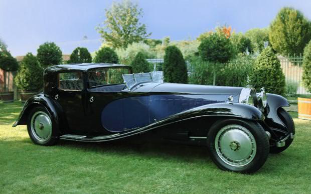 クラシックカー:ブガッティ(1931 Bugatti Royale Kellner Coupe)
