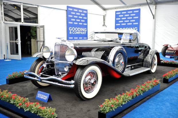 クラシックカー:デューセンバーグ モデルJ(1931 Duesenberg Model J Long-Wheelbase Coupe)