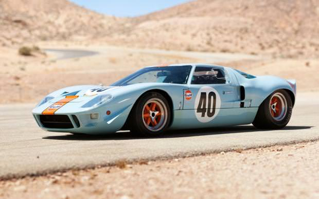 クラシックカー:フォード(1968 Ford GT40 GulfMirage Coupe)