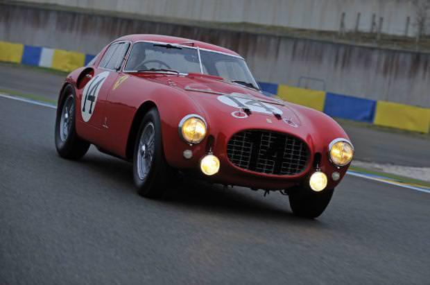 クラシックカー:フェラーリ(1953 Ferrari 340375 MM Competizione Berlinetta)