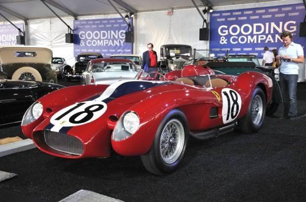 クラシックカー:フェラーリ(1957 Ferrari250 Testarossa Prototype)