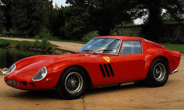 クラシックカー:フェラーリ(1962 Ferrari 250 GTO)