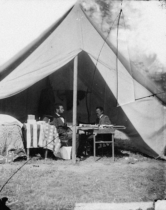 リンカーン大統領とマクレラン将軍(1862年)