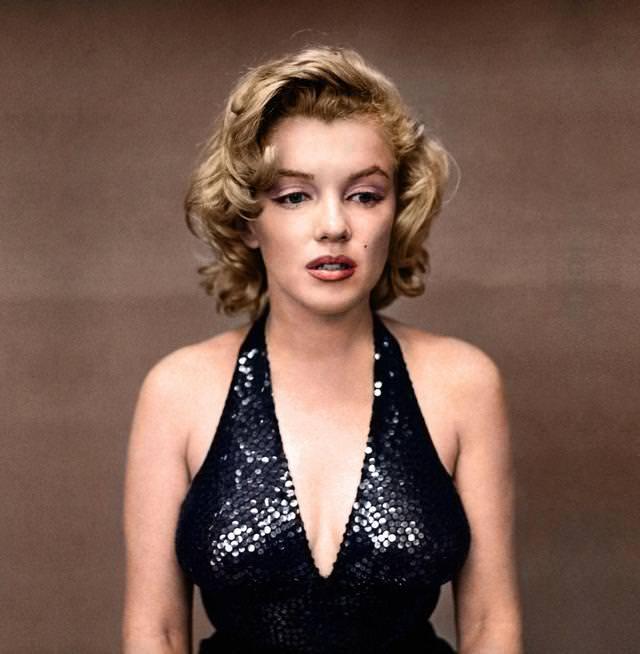 カラー化:マリリン・モンロー(1957年)
