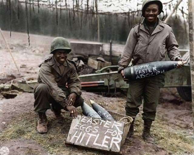 カラー化:ヒットラーのためのイースターエッグ(1944-1945)