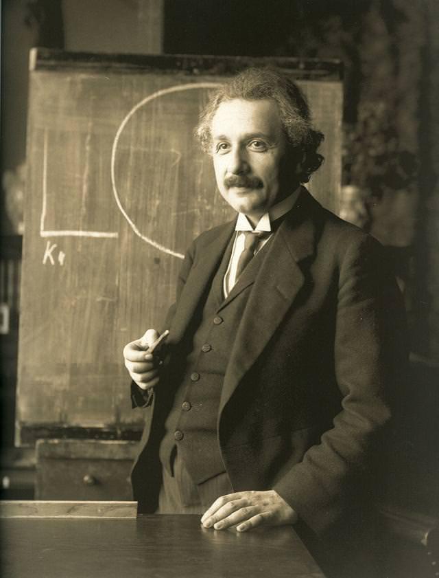 アルバート・アインシュタイン博士(1921年)