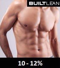 体脂肪率10%〜12%の男性