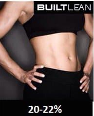 体脂肪率20〜22%の女性