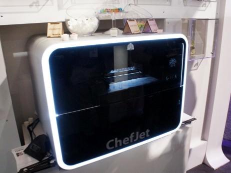 ChefJet:食品を出力する3Dフードプリンター