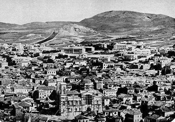 1860年のアテネ(Athens-1860)