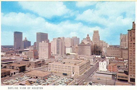 1960年代のテキサス州ヒューストン(アメリカ)(houston-1960s)