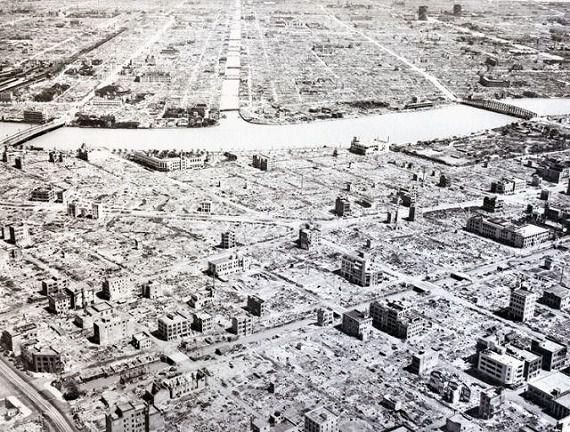 1945年終戦直後の東京(tokyo1945-after war)