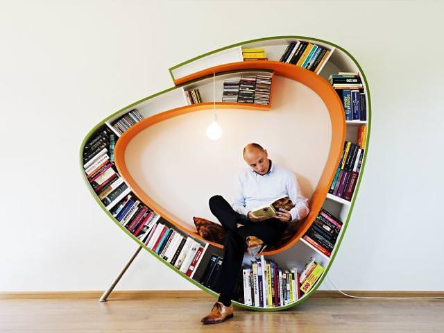 本の虫のためのお洒落な本棚