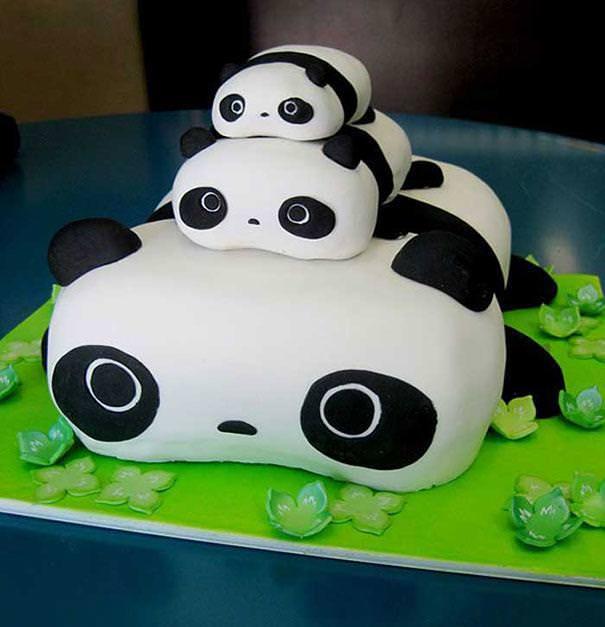 創作ケーキ:たれぱんだ