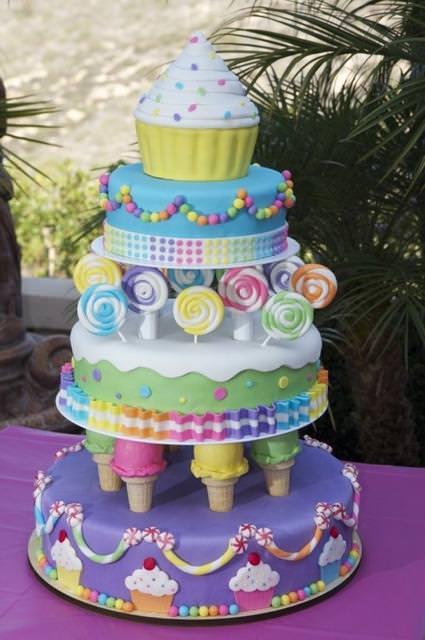 創作ケーキ:メルヘンチック