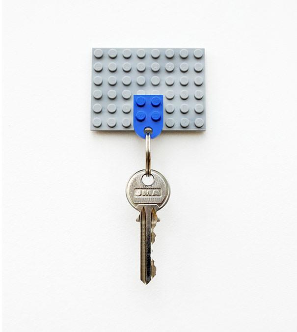 レゴで作られたキーホルダー