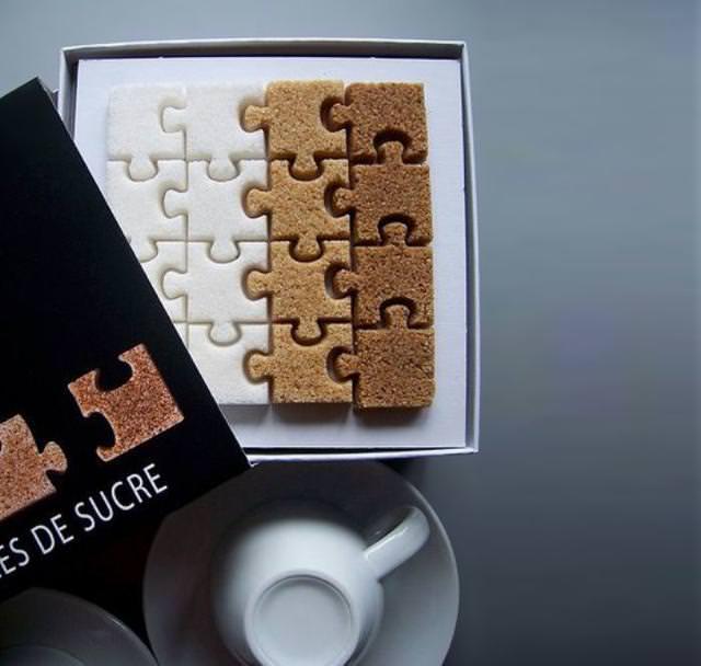 砂糖のパズル
