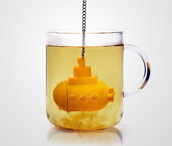 おしゃれな茶こし(ティーストレーナー):潜水艦