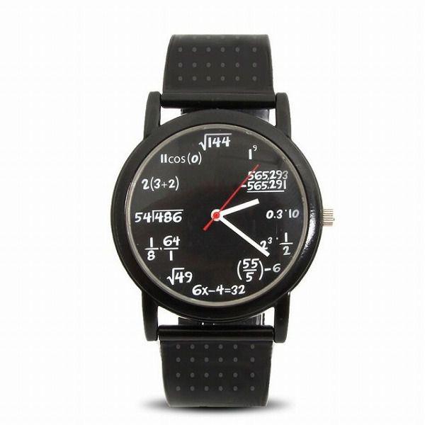 数学オタクのための腕時計
