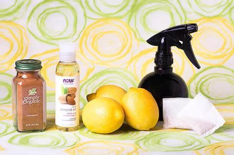 レモンで髪を染める際に準備する物