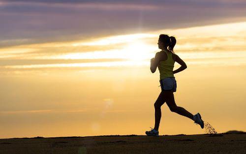 ジョギングで健康美