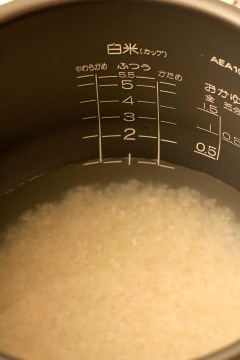 お米のとぎ汁