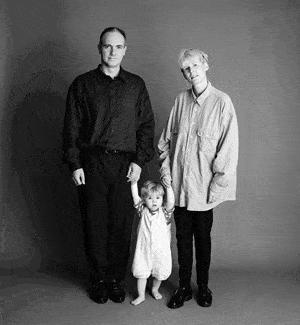 仲良し家族のタイムスリップ写真(1992年)