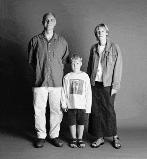 仲良し家族のタイムスリップ写真(1997年)