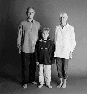 仲良し家族のタイムスリップ写真(1998年)