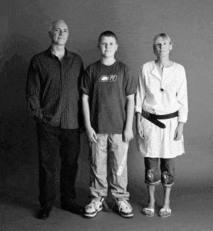仲良し家族のタイムスリップ写真(2004年)