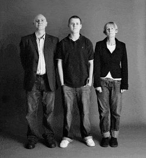 仲良し家族のタイムスリップ写真(2005年)