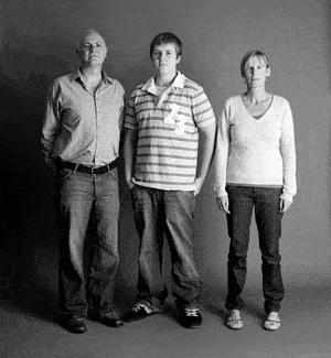 仲良し家族のタイムスリップ写真(2006年)