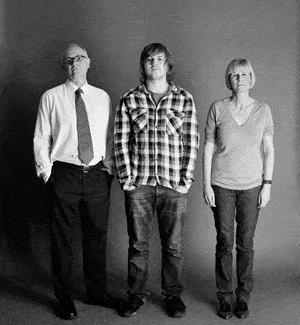 仲良し家族のタイムスリップ写真(2008年)