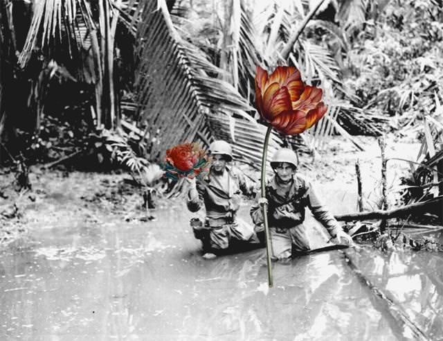 銃に花を咲かせる、平和への願い4