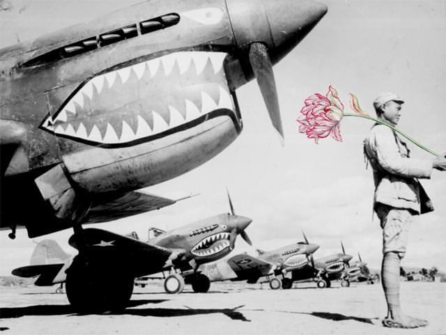 銃に花を咲かせる、平和への願い5